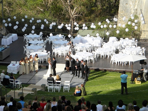 Weddings at the Quarry